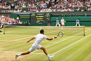 Particularités de Wimbledon