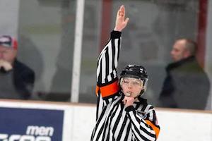 Arbitrage hockey sur glace
